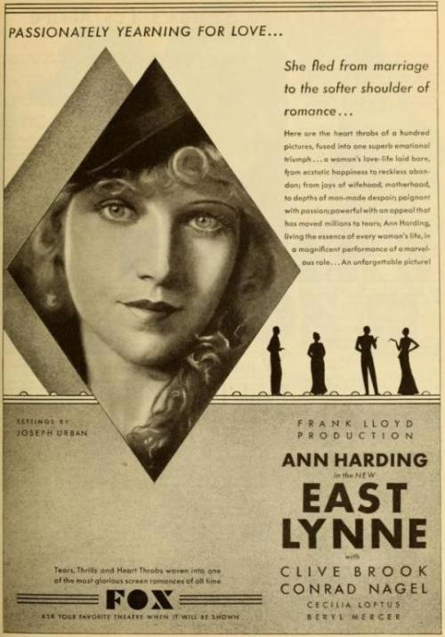East Lynne (1925 film) East Lynne 1931