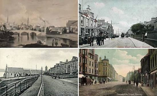 East Renfrewshire in the past, History of East Renfrewshire