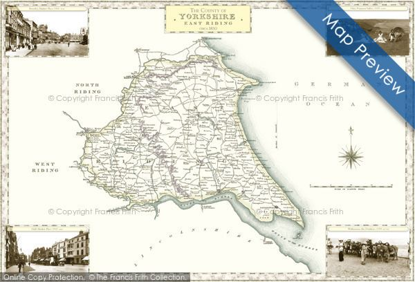 East Riding of Yorkshire in the past, History of East Riding of Yorkshire