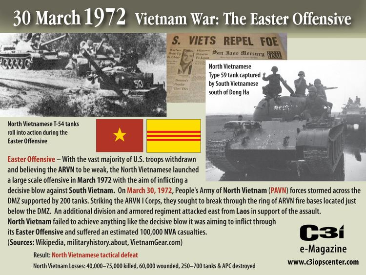 Easter Offensive 30 March 1972 The Easter Offensive Vietnam War C3i Ops Center