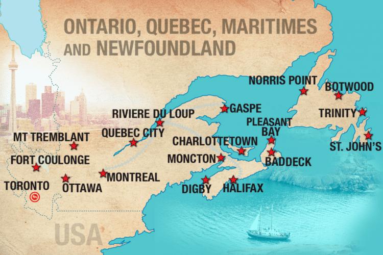 Eastern Canada Adventure Tours in Eastern Canada Moose Bus Travel Eastern Canada