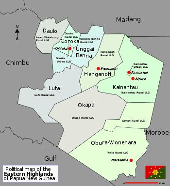 Eastern Highlands Province Wikipedia