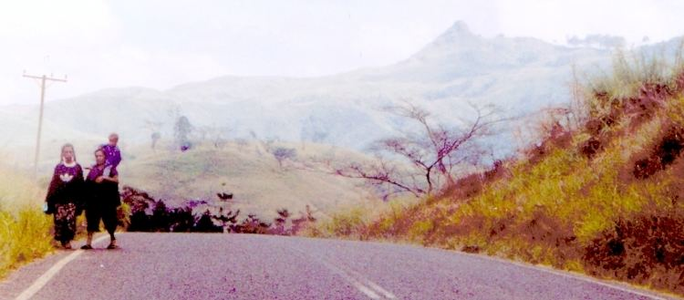 Eastern Highlands Province in the past, History of Eastern Highlands Province
