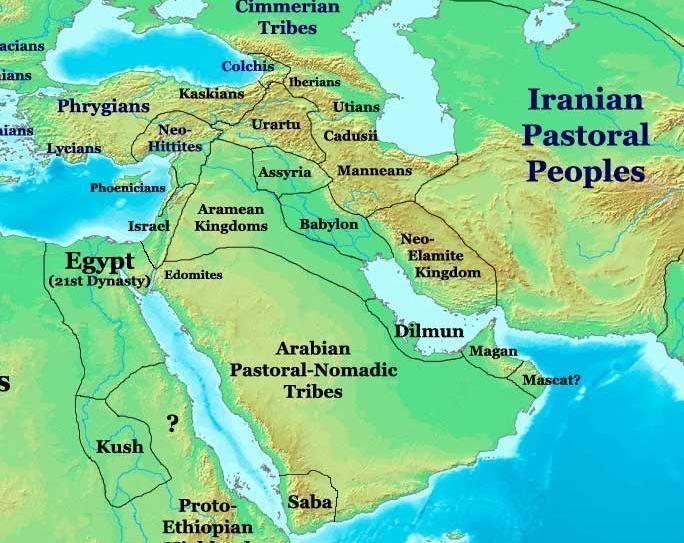 Eastern Province, Saudi Arabia in the past, History of Eastern Province, Saudi Arabia