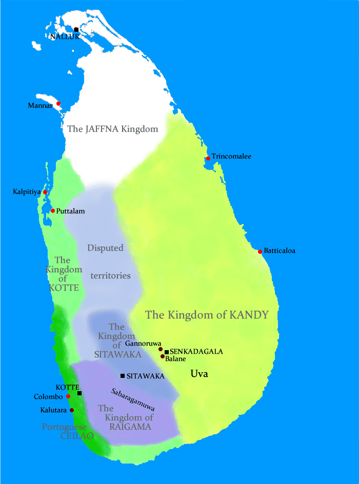 Eastern Province, Sri Lanka in the past, History of Eastern Province, Sri Lanka