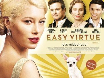 Easy Virtue (2008 film) movie poster