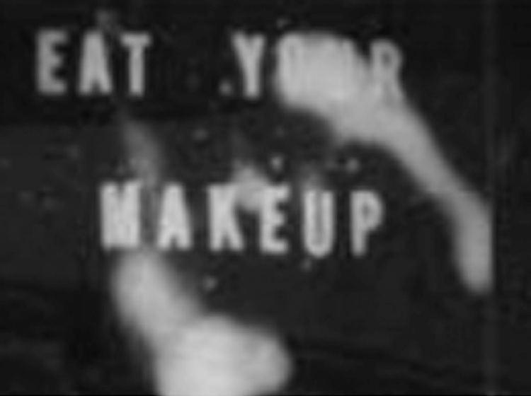 Eat Your Makeup BlackAcrylic John Waters Eat Your Makeup