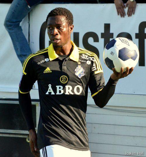 Ebenezer Ofori Ebenezer Ofori AIK Allsvenskan SvenskaFanscom