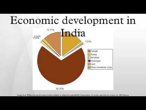 Economic development in India Economic development in India YouTube