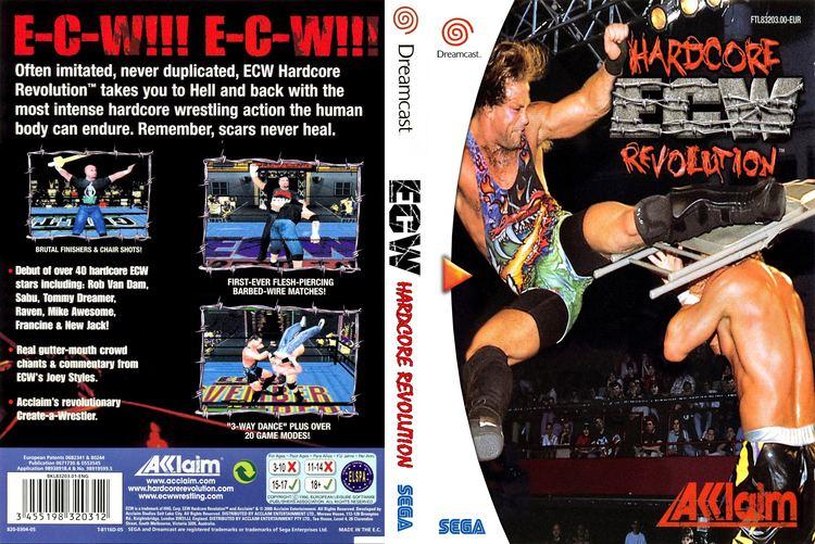 ECW Hardcore Revolution retrogameshelfcomwpcontentuploadsBIGECWhardc