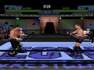 ECW Hardcore Revolution N64 Nintendo 64 for ECW Hardcore Revolution ROM
