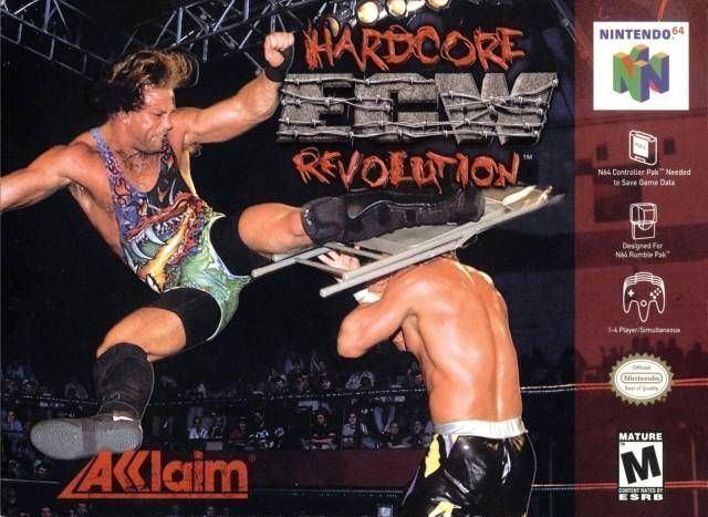 ECW Hardcore Revolution ECW Hardcore Revolution USA ROM gt Nintendo 64 N64 LoveROMscom