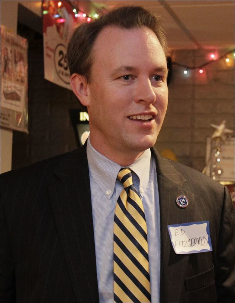 Ed FitzGerald Cuyahoga County39s FitzGerald tests water for 2014 run for