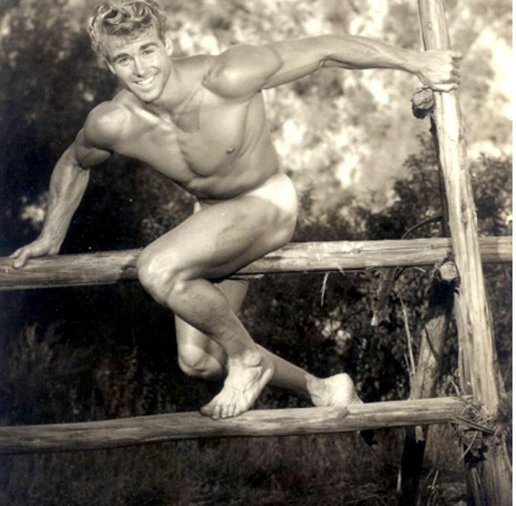 Ed Fury Ed Fury actor physique model 1950s a photo on