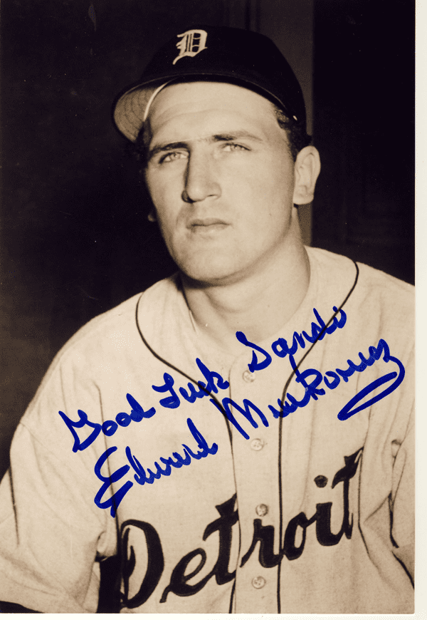Ed Mierkowicz OldTimer from Wyandotte once played for Detroit TimesHerald and