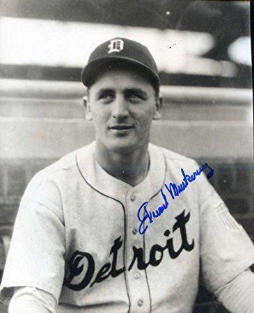 Ed Mierkowicz Ed Mierkowicz 1945 World Series Tigers Autographed Original