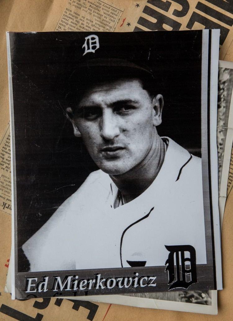 Ed Mierkowicz Ed Mierkowicz sole survivor of CubsTigers 1945 World Series