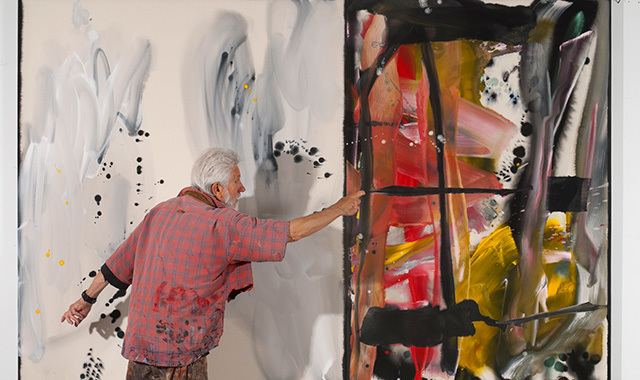 Ed Moses (artist) I Just Wait Until It Goes 39Pow39 Abstract Painter Ed