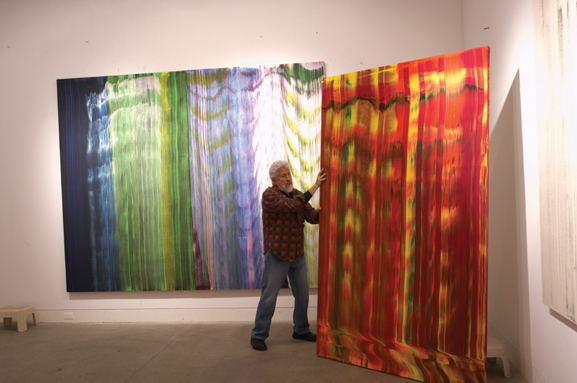 Ed Moses (artist) Ed Moses Art Living