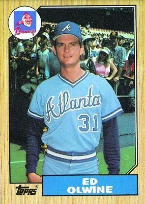 Ed Olwine Baseball Card Database Ed Olwine 1987