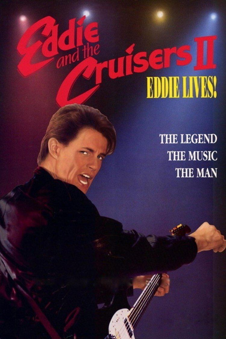 Eddie and the Cruisers II: Eddie Lives! wwwgstaticcomtvthumbmovieposters11787p11787