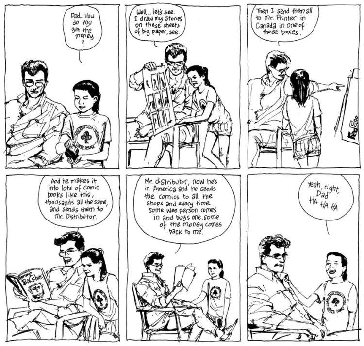 Eddie Campbell The Eddie Campbell Interview part one of four The