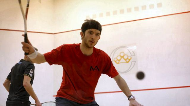 Eddie Charlton (squash player) Squash Mad 11 Points with Canary Wharf wild card Eddie Charlton