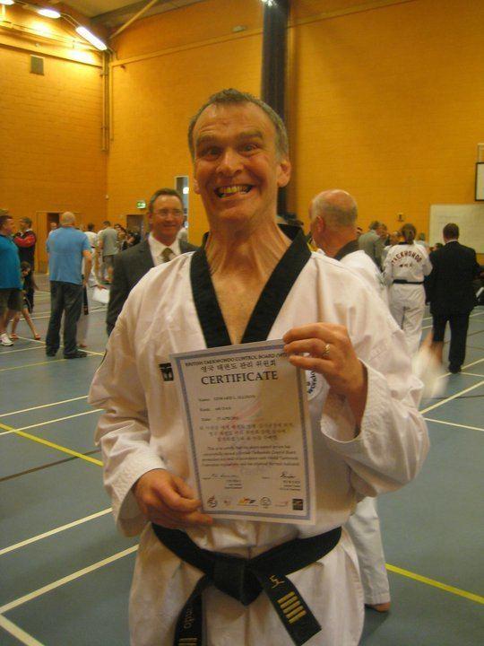 Eddie Ellison Master Eddie Ellison April 2011 Ellisons Taekwondo