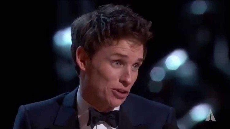 Eddie Redmayne Eddie Redmayne winning Best Actor YouTube