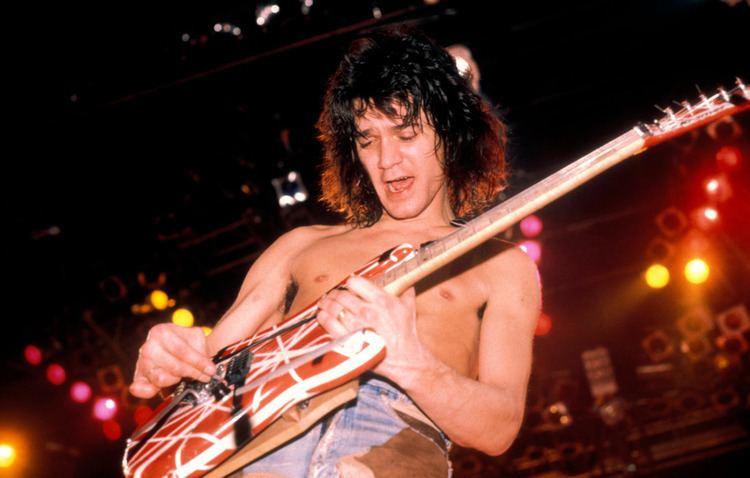 Eddie Van Halen Watch Eddie Van Halen Shred in Fiery Gear Demo Rolling Stone