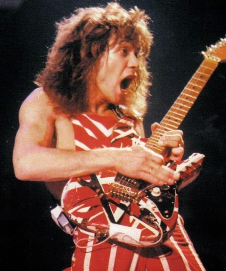 Eddie Van Halen EDDIE VAN HALEN AN ARTIST IS BORN January 26 2014