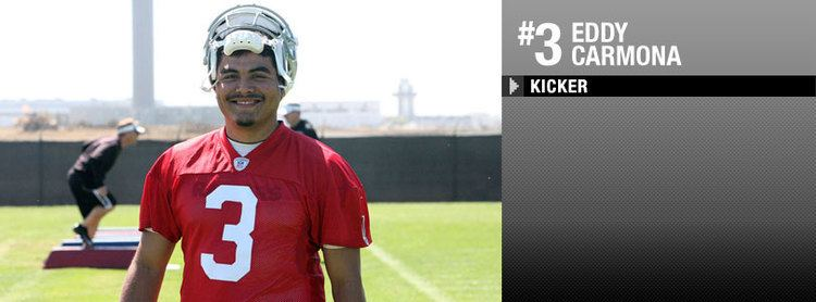 Eddy Carmona Oakland Raiders Eddy Carmona