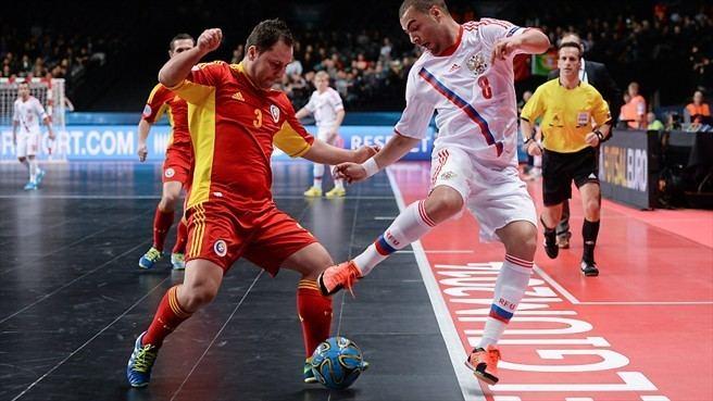 Eder Lima Florin Ignat Romania amp Eder Lima Russia Futsal EURO