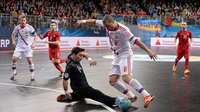 Eder Lima Cristiano Portugal amp Eder Lima Russia Futsal EURO