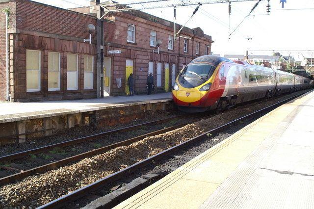 Edge Hill railway station