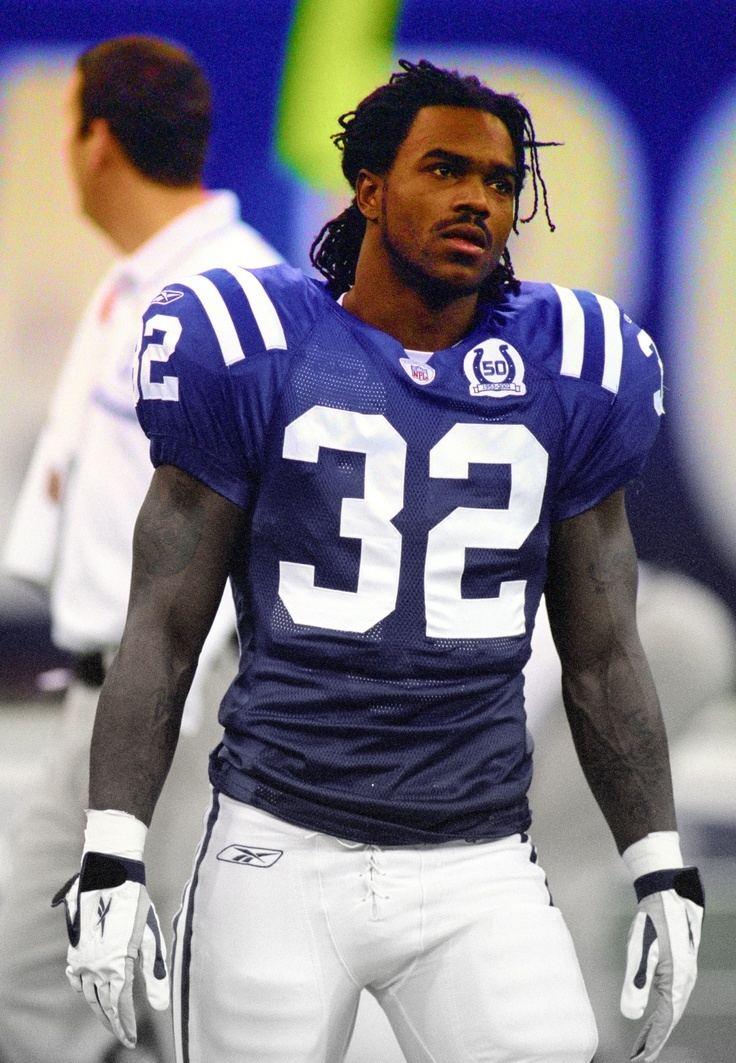 Edgerrin James Edgerrin James Colts RB Indianapolis Colts Pinterest