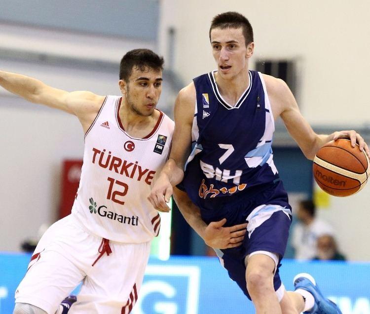 Edin Atić Edin Atic U18 European Championship Men 2014 FIBA Europe