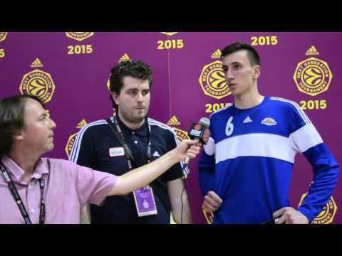 Edin Atić ANGT Madrid Day 1 Interview Edin Atic Spars Sarajevo YouTube