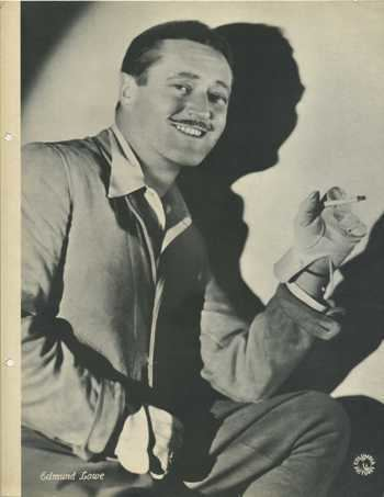 Edmund Lowe 1934 Dixie Premiums Photo Identification Page from things