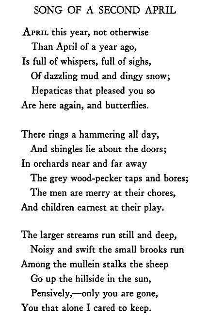 Edna St. Vincent Millay Feb 24 About Poets Edna St Vincent Millay Sad poems Poem and Sad