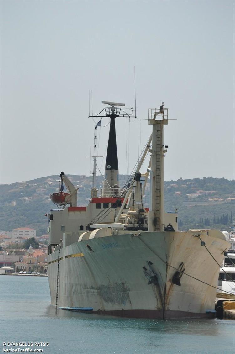 EDRO III Edro III Aground Shipwreck Log
