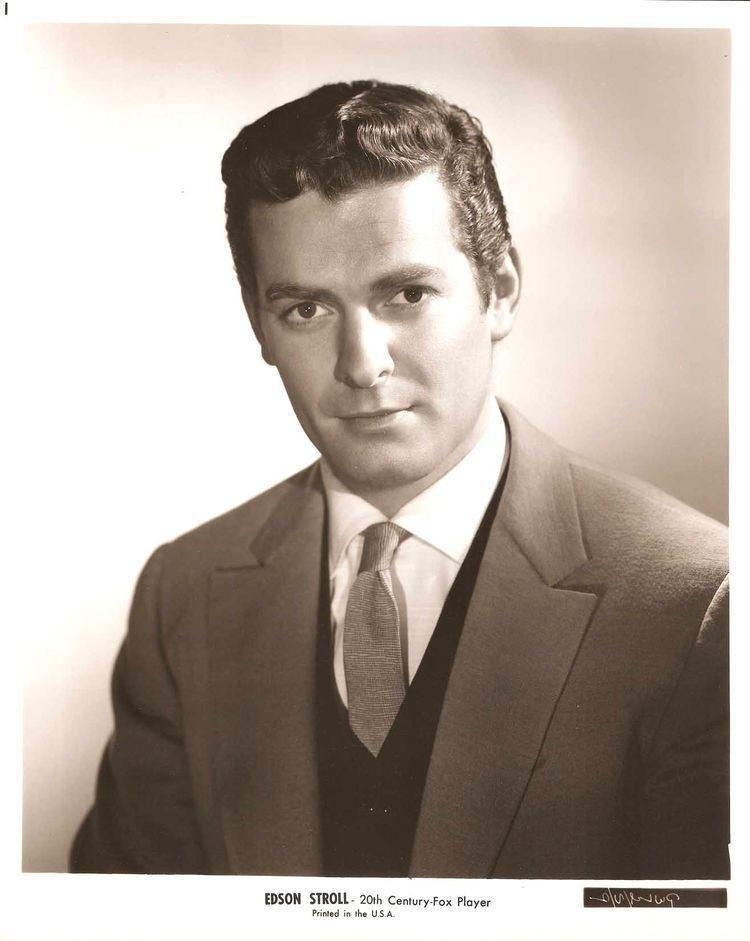Edson Stroll edson stroll actor Edson Stroll Original Vintage Portrait 1963