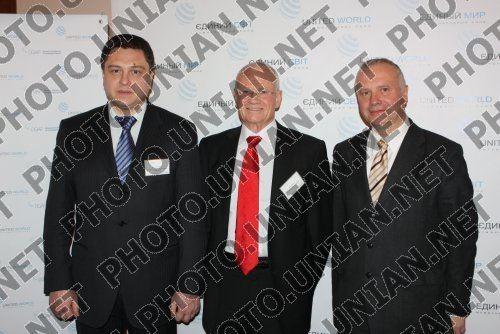Eduard Prutnik Eduard Prutnik Danni Yatom and Alexsander Rar Photo UNIAN