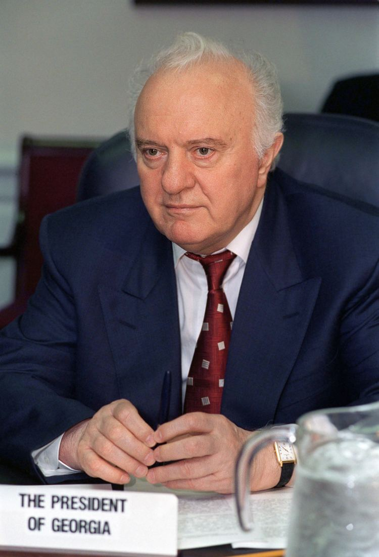 Eduard Shevardnadze Eduard Shevardnadze Wikipedia the free encyclopedia