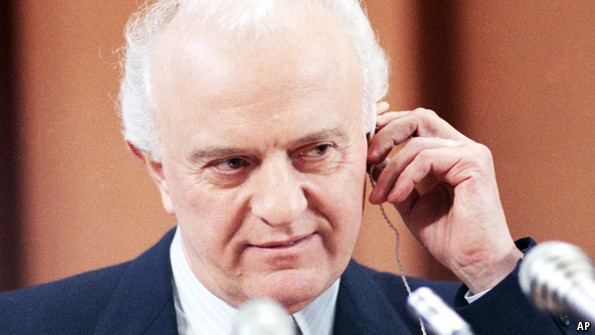 Eduard Shevardnadze Eduard Shevardnadze The Economist