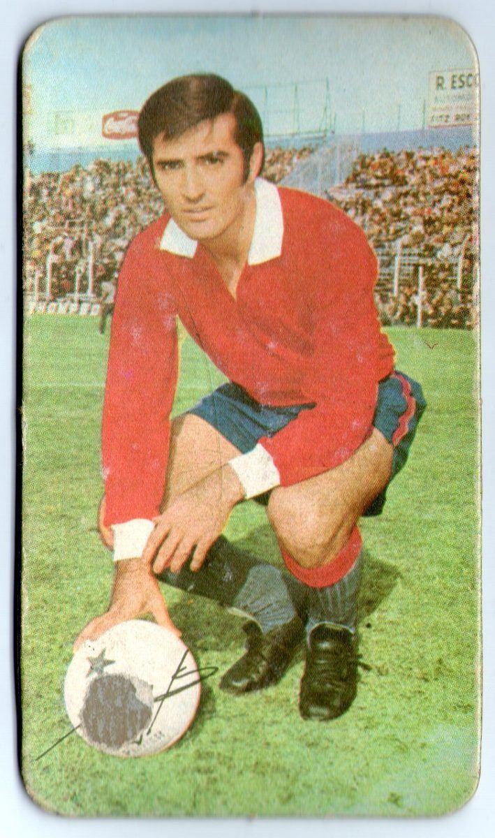 Eduardo Maglioni Figurita Tarjeton Futbol 1971 Eduardo Maglioni 83  Independiente de
