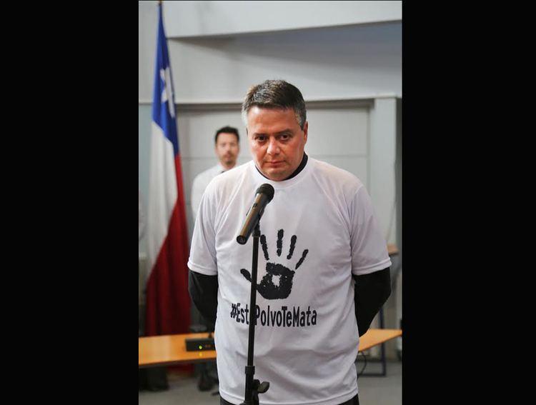 Eduardo Parraguez Notificaron al concejal Eduardo Parraguez por dichos en contra de la