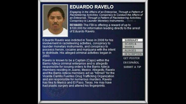 Eduardo Ravelo FBI Wanted 2012 EDUARDO RAVELO 100000 Reward YouTube