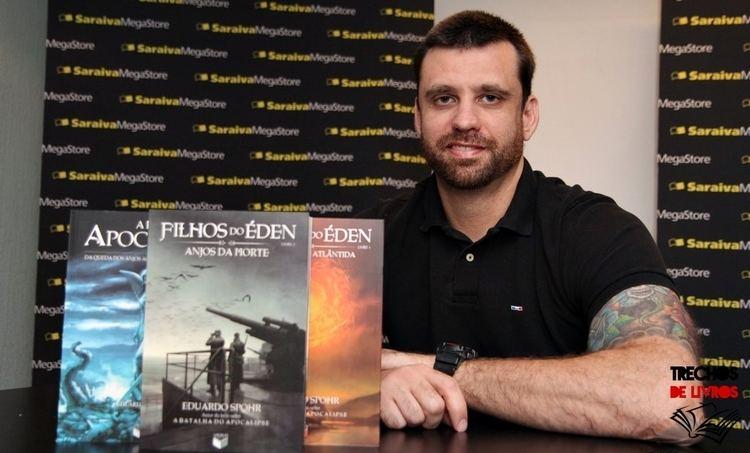 Eduardo Spohr Trechos de Livros Entrevista com Eduardo Spohr