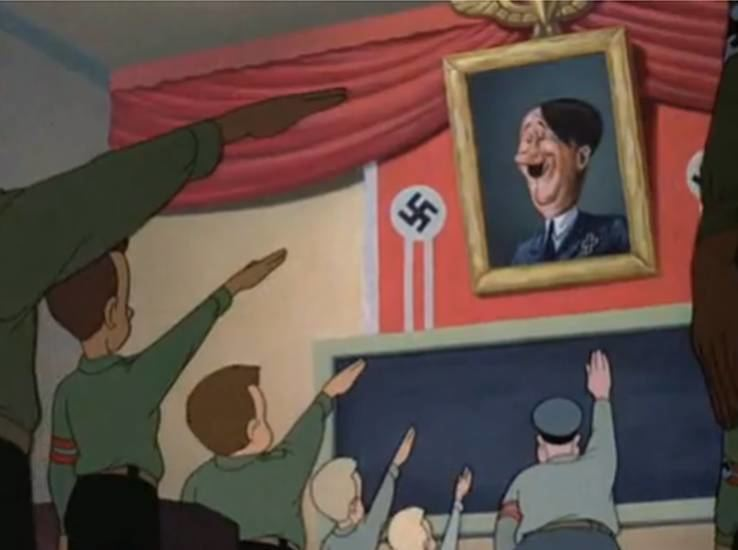 Education for Death movie scenes Disney Studios in 1943 also created five propaganda films labeled as psychological productions by Disney s publicity department with a particularly